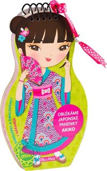 Obálka titulu Oblékáme japonské panenky - Akiko