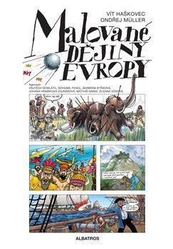 Obálka titulu Malované dějiny Evropy