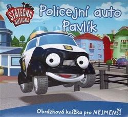 Obálka titulu Policejní auto Pavlík - leporelo kniha