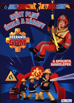 Obálka titulu Požárník Sam - Modrá kniha aktivit