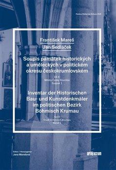 Obálka titulu Soupis památek uměleckých a historických v politickém okresu Český Krumlov