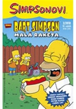 Obálka titulu Bart Simpson 2/2018: Malá raketa