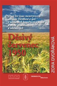 Obálka titulu Děsivý červenec 1950