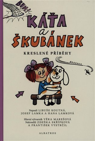Káťa a Škubánek - Kreslené příběhy - Libuše Koutná, | Booksquad.ink