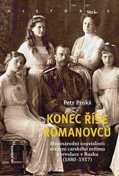 Obálka titulu Konec říše Romanovců