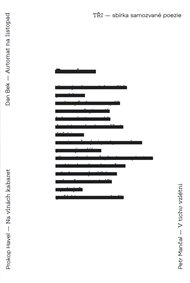 Tři - sbírka samozvané poezie