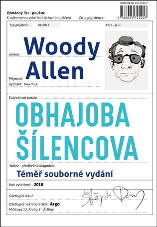 Obhajoba šílencova - Woody Allen | Booksquad.ink