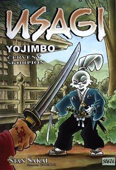 Obálka titulu Usagi Yojimbo: Červený škorpion