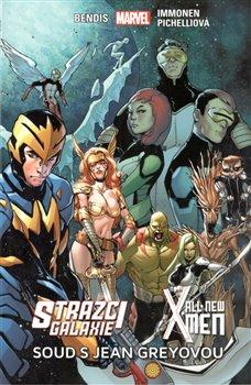 Obálka titulu Strážci galaxie / New X-Men: Soud s Jean Greyovou