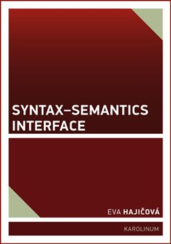 Obálka titulu Syntax-Semantics Interface