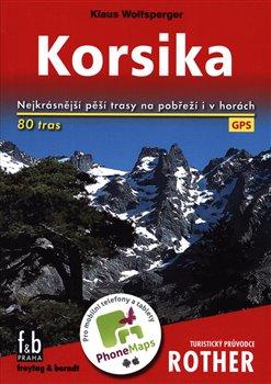 Obálka titulu Korsika - Turistický průvodce Rother
