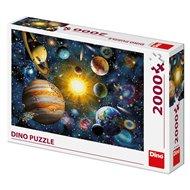 Puzzle Sluneční soustava, 2000 dílků