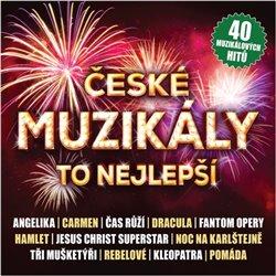 Obálka titulu České muzikály - To nejlepší