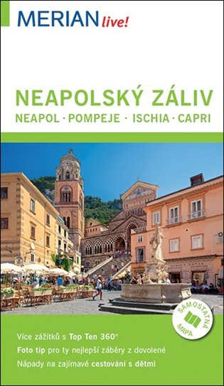 Neapolský záliv - Merian Live!:Neapol - Pompeje- Ischia - Capri - Carola Käther | Booksquad.ink