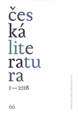 Česká literatura 1/2018 - - | Booksquad.ink