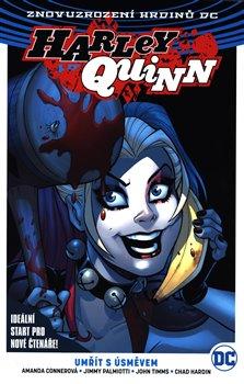 Obálka titulu Harley Quinn 1: Umřít s úsměvem