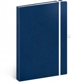 Obálka titulu Notes - Vivella Classic modrý/bílý, linkovaný, 15 x 21 cm