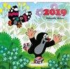 Obálka knihy Nástěnný kalendář Krteček 2019
