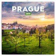 Poznámkový kalendář Praha letní 2019