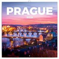 Poznámkový kalendář Praha nostalgická 2019