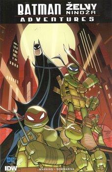 Obálka titulu Batman / Želvy nindža Adventures
