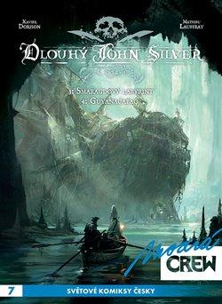 Obálka titulu Modrá CREW 7: Dlouhý John Silver 3+4