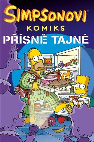 Simpsonovi: Přísně tajné! - Matt Groening | Booksquad.ink