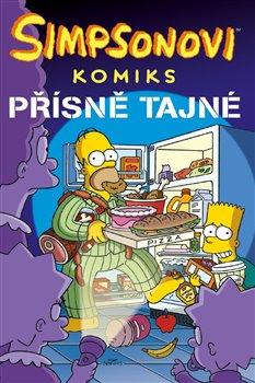 Obálka titulu Simpsonovi: Přísně tajné!