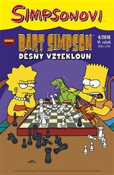 Obálka titulu Bart Simpson 4/2018: Děsný vztekloun