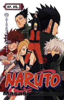 Obálka titulu Naruto 37: Šikamaruův boj