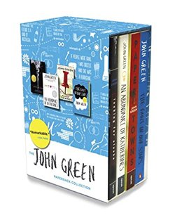 Obálka titulu The John Green paperback collection (boxset, 4 books)
