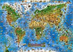 Živočichové celého světa (mapa)