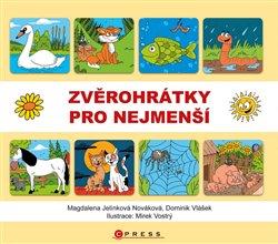 Zvěrohrátky pro nejmenší - Magdalena Jelínková Nováková, Dominik Vlášek