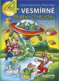 Obálka titulu 4 vesmírné příběhy čtyřlístku