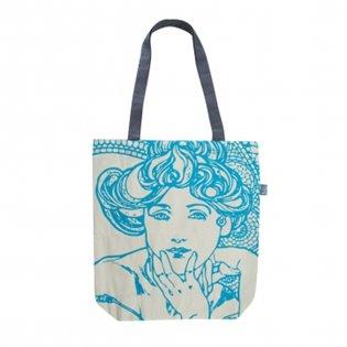Plátěná taška Alfons Mucha – Topaz, Fresh Collection - -   Booksquad.ink
