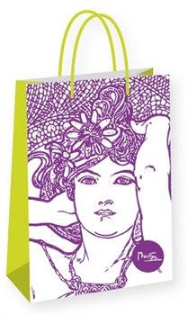 Obálka titulu Dárková taška Alfons Mucha – Amethyst, Fresh Collection, velká