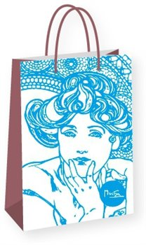 Obálka titulu Dárková taška Alfons Mucha – Topaz, Fresh Collection, střední