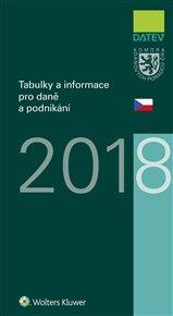 Tabulky a informace pro daně a podnikání 2018