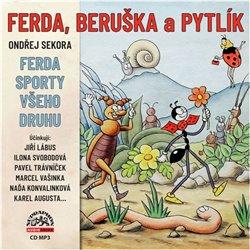 Obálka titulu Ferda, Beruška a Pytlík & Ferda sporty všeho druhu