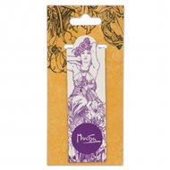 Magnetická záložka Alfons Mucha – Amethyst, Fresh Collection