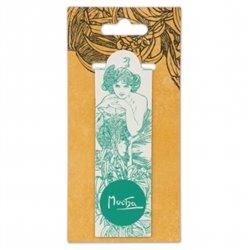 Obálka titulu Magnetická záložka Alfons Mucha – Emerald, Fresh Collection