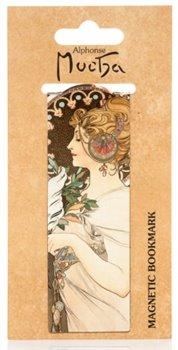 Obálka titulu Magnetická záložka Alfons Mucha – Feather