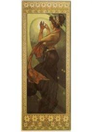 Blahopřání Alfons Mucha – Pole Star