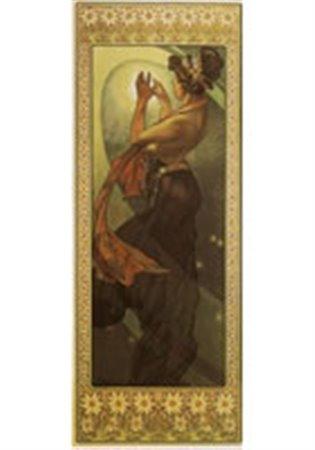 Blahopřání Alfons Mucha – Pole Star - - | Booksquad.ink