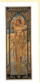 Blahopřání Alfons Mucha – Brigtness of Day
