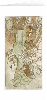 Obálka titulu Blahopřání Alfons Mucha – Winter