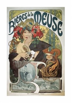 Obálka titulu Pohled Alfons Mucha – Bieres, krátký