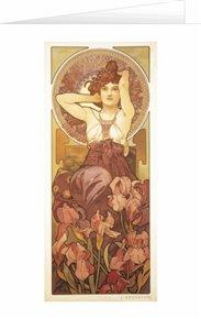 Blahopřání Alfons Mucha – Amethyst