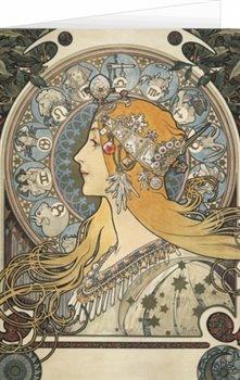 Obálka titulu Blahopřání Alfons Mucha – Zodiac