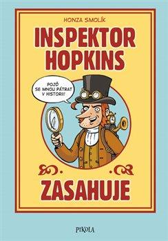 Obálka titulu Inspektor Hopkins zasahuje